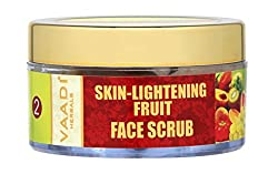 Vaadi Herbals Skin Lightening Fruit Face Scrub, 50g