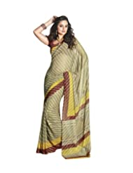 Triveni Fancy Saree With Unstitch Blouse - 5400