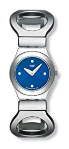 Swatch Hollow Bangle Blue Dial Womens Watch YSS155H
