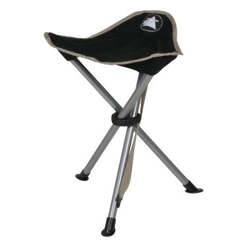 10T-Tripod-Camping-Stuhl-Dreibein-Hocker-45cm-Sitzhhe-handliche-800g-leicht