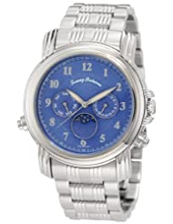 Tommy Bahama Swiss Men's TB3041 Chasing The Moon Swiss Moon Phase Blue Analog Watch