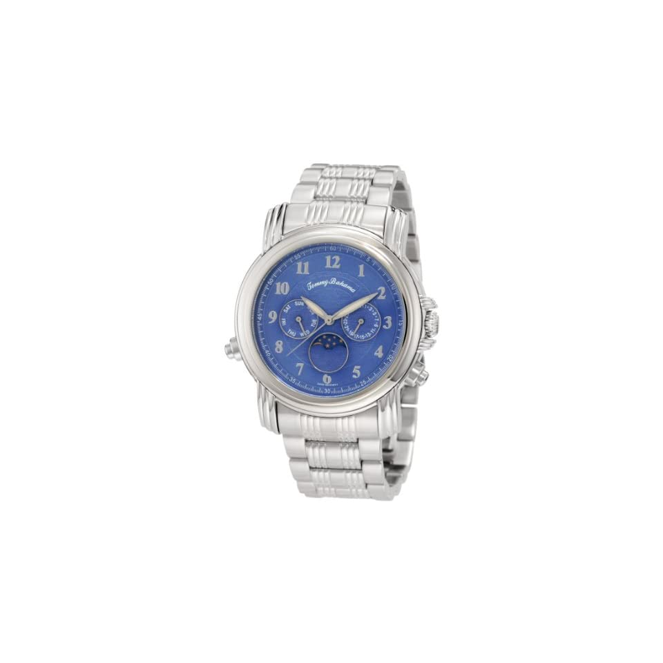 528c30a4b20 Tommy Bahama Swiss Mens TB3041 Chasing The Moon Swiss Moon Phase Blue  Analog Watch