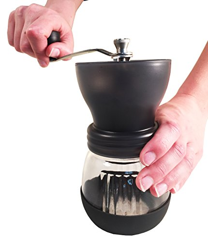 DuraCasa Manual Coffee Grinder - High Quality Burr Coffee Grinder - Coffee Maker With Grinder ...