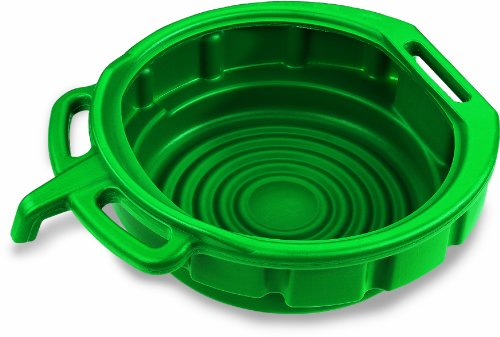 Lumax LX-1631 Green 3.75 Gallon Plastic Oil Drain Pan (Antifreeze Drain Pan compare prices)