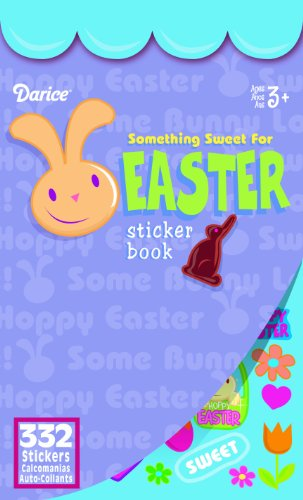 WeGlow International Something Sweet For Easter Sticker Book (Pack of 4)