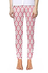 Snoogg Digitally Printed Womens 4 Way Expandable Full Length Leggings Yoga Pants