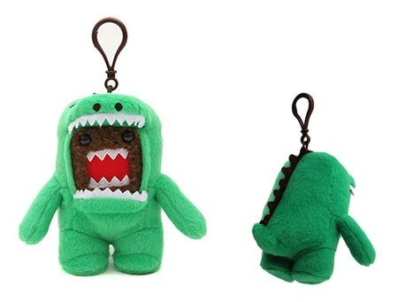 Licensed 2 Play Domo Dino Plush Clip, Green