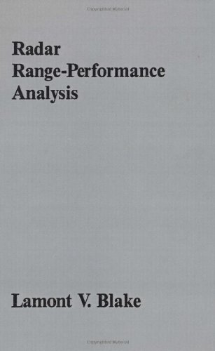 Radar Range-Performance Analysis (Artech House Radar Library)