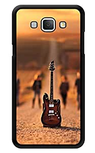 """Humor Gang Desert Guitar Band Music Printed Designer Mobile Back Cover For """"Samsung Galaxy A8"""" (3D, Glossy, Premium Quality Snap On Case)"""