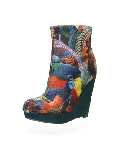 Desigual Women's Ciampino Ankle Boot  [Blue Gaultier]