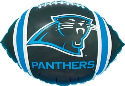 Party Destination 147879 Carolina Panthers Foil Balloon