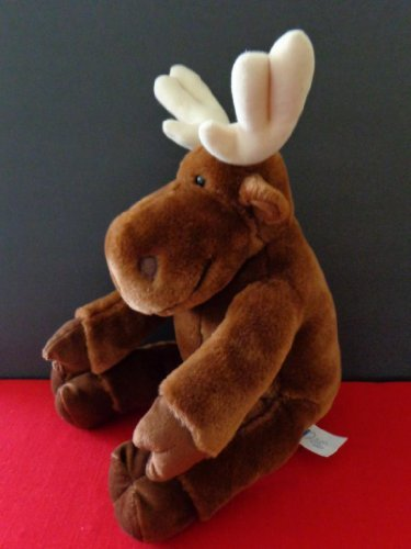 "Kohl's ""If You Give a Moose a Muffin"" Plush Stuffed Brown Animal Character Doll Toy"