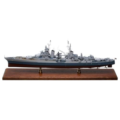 Amazon.com: USS Indianapolis CA-35 Cruiser Wood Model Ship