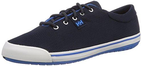 Helly Hansen SCURRY LO, Low-Top Sneaker uomo, Blu (597 Navy / Racer Blue / Sunris), 44