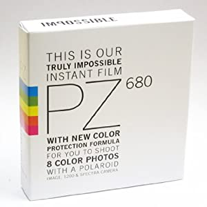 Impossible PZ 680 Color Protection Film for Spectra & Image Cameras