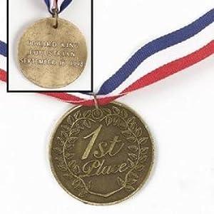 1St Place Gold Medal (6 pieces) - Bulk