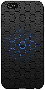 Snoogg Honeycomb Case Cover For Apple Iphone 6