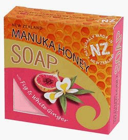 Manuka Honey, Fig and White Ginger Soap