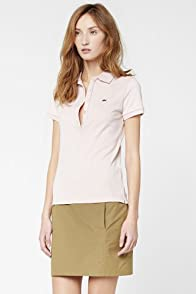 Lightweight Poplin Above The Knee Skirt