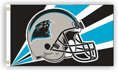 NFL Carolina Panthers 3-by-5 Foot Helmet Flag photo
