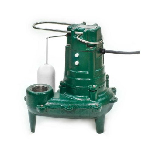 Zoeller 267-0020 115-Volt 1/2 Horse Power Model M267 Waste-Mate Automatic Cast Iron Single Phase Submersible Sewage/Effluent Pump