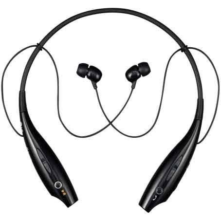 Bluetooth Stereo Headphones Best Buy Lg Mobile Hbs 700 Stereo Bluetooth Headset Neckband Style Headset