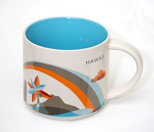 スターバックス(Starbucks) HAWAII ハワイ限定 You Are Here Collection マグカップ 地域限定 海外限定品 414ml / 14oz