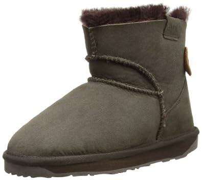 Emu Womens Alba Mini Mini Boots W10835 Chocolate 3 UK, 35 EU, 5 US, Regular