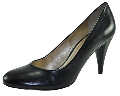 edd8c79cf98 Antonio Melani Shoes  Women s Alex 001 Genuine Leather Black Pump Size 5.5