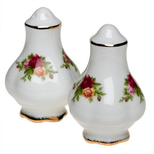 Royal Albert Old Country Roses 3-Inch Salt and Pepper Set