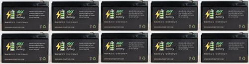 12V 12Ah F2 Invacare Zoom 300 Sla Sealed Lead Acid Battery - 10 Pack