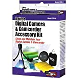 Vidpro 8 Piece Digital Camera and Camcorder Accessory Kit
