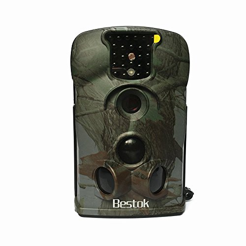 Bestok-12MP-Digital-Infrared-Night-Vision-Outdoor-IP54-Waterproof-Wildlife-Scouting-Stealth-Hunting-Spy-Surveillance-Security-Game-Cam-Trail-Camera-4GB-SD-Card