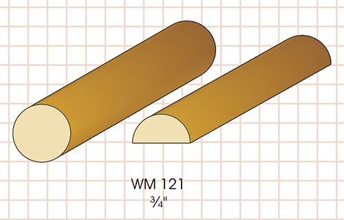 wm121 half rd Molding Knife Fits Woodmaster/Belsaw/Powermatic/Jet