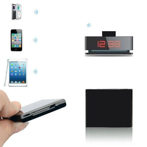 Tpt Mini Bluetooth Music Audio 30 Pin Receiver Adapter For Ipod Iphone Dock Speaker