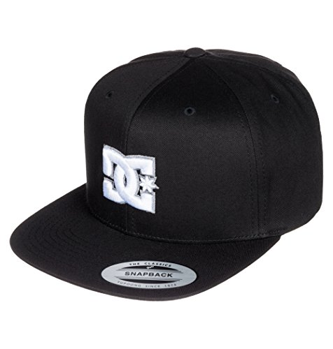 dc-clothing-mens-snappy-baseball-cap-black-anthracite-one-size