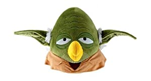 "Angry Birds Star Wars Bird Yoda 5"" Plush with Sound by Angry Birds Star Wars"