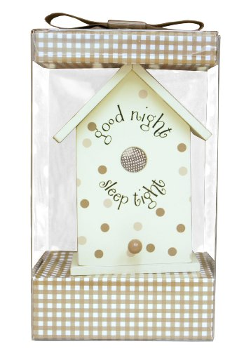 My Baby Sam Birdhouse Night Light, Brown