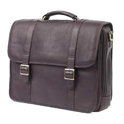 ClaireChase Porthole Style Laptop Briefcase (Cafe)