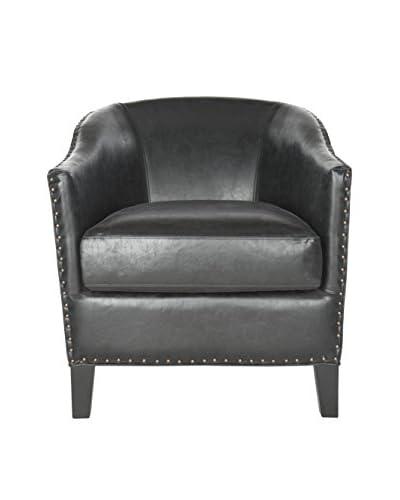 Safavieh Evander Club Chair, Antique Black