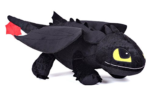 """Happy Feet - DreamWorks How To Train Your Dragon - 12"""" Plush Toy - Toothless"""