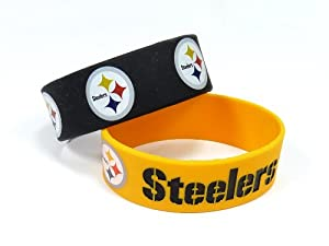 Amazon Com Nfl Pittsburgh Steelers Silicone Rubber