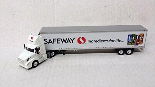 echelle-h0-truck-volvo-vn-300-avec-safeway-trailer