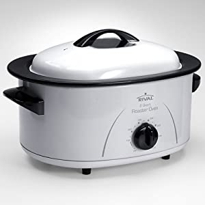 Countertop Oven Roaster : ... : Rival R80 8-Quart Roaster Oven: Countertop Ovens: Kitchen & Dining