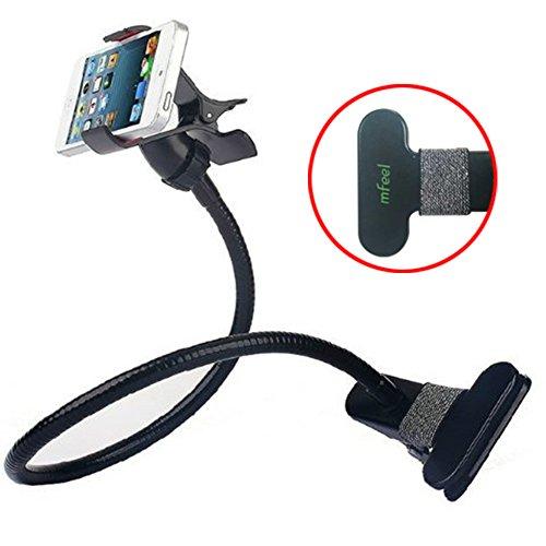 mfeel-universal-long-arm-mobile-phone-holder-desktop-bed-lazy-bracket-mobile-stand-black