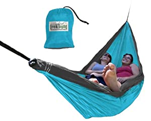 Trek Light Gear Double Hammock (Aqua/Charcoal)
