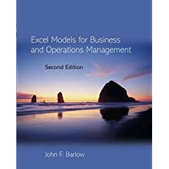 Excel for operations management
