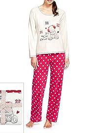 Tatty Teddy Spotted Pyjamas [T37-3888-S]