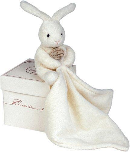 Doudou et Compagnie 10 cm Natural Rabbit and