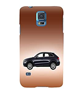 Classic Car Design 3D Hard Polycarbonate Designer Back Case Cover for Samsung Galaxy S5 G900i :: Samsung Galaxy S5 i9600 :: Samsung Galaxy S5 G900F